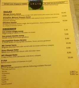 Krave_Menu_Salad_Desserts