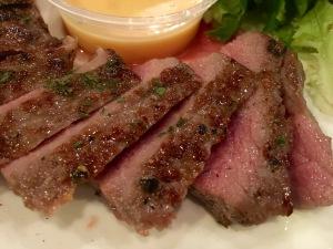 Royz et Vous beef steak closeup