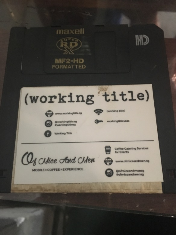 Working Title - Floppy Disk