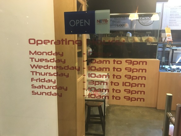 Watsub Opening Hours