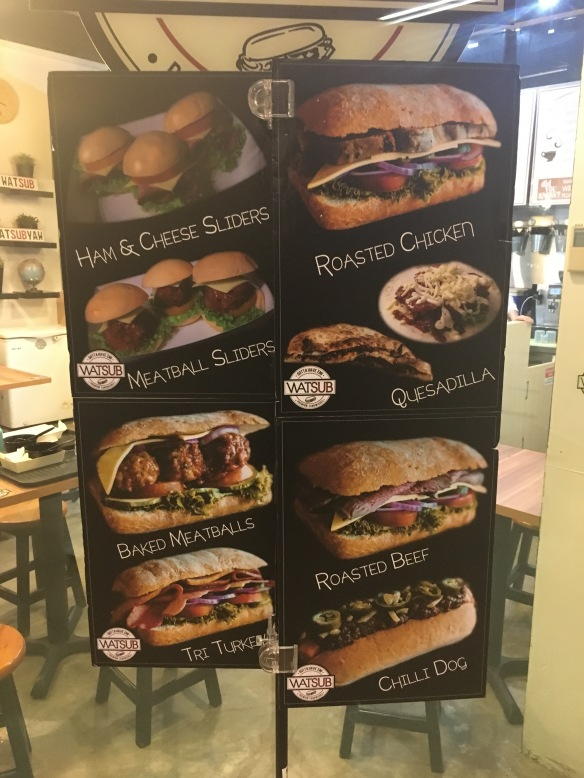 Watsub Sandwich Pictures