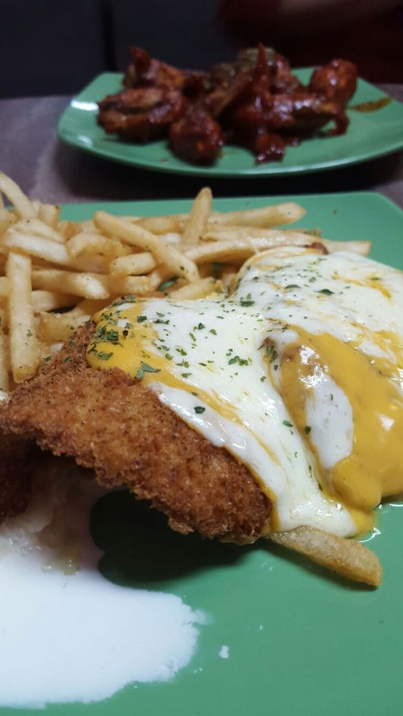 Peachy's Cheesy Fish and Chips 2