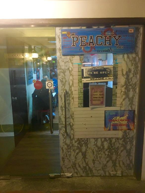 Peachy's Facade