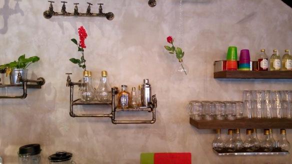 Word Café - Wall