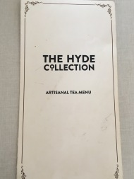 Hyde & Co - Tea Menu