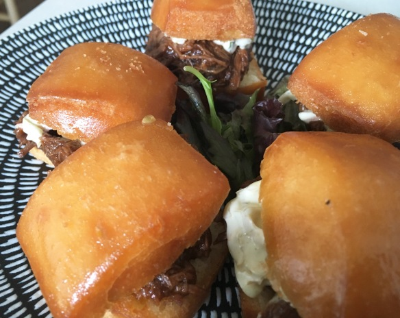 Hyde & Co - Beef Brisket Mantou Close-up