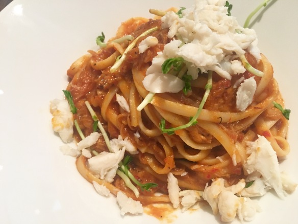 Flava Bistro - Chili Crab Linguine