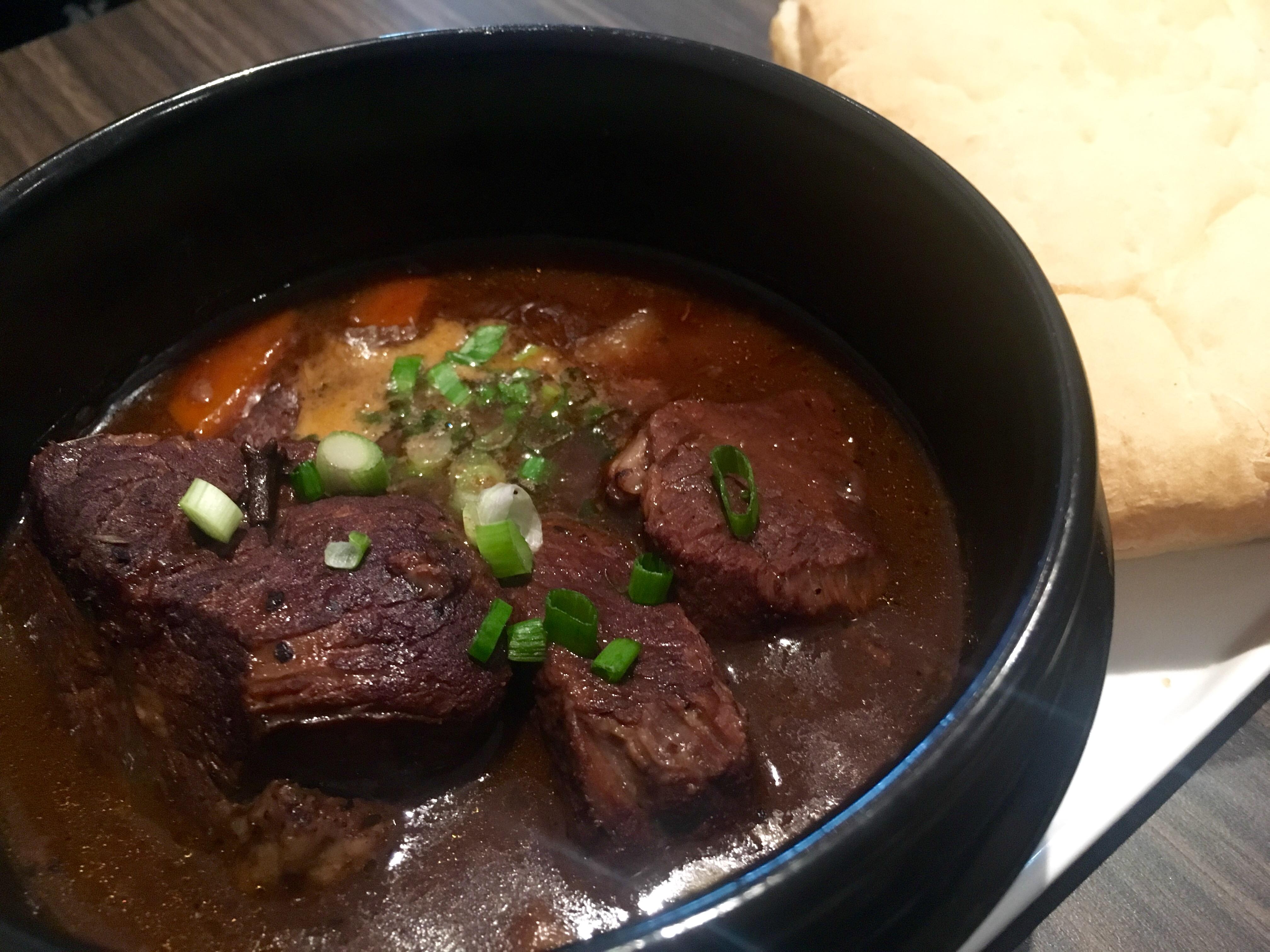 Flava Bistro - Balinese Beef Stew Closeup