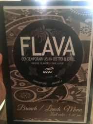 Flava Bistro - Lunch Menu