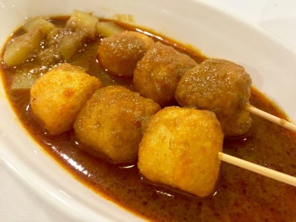 Penang Culture - Penang Curry Fish Balls