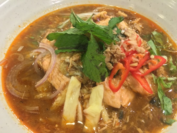 Penang Culture - Salmon Assam Laksa