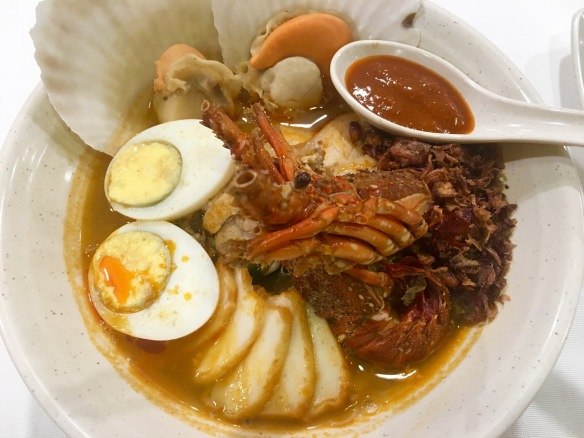Penang Culture - Lobster and scallop noodles