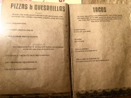 Afterwit SG - Pizzas Quesadillas Tacos Menu
