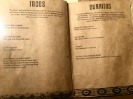 Afterwit SG - Tacos & Burritos Menu