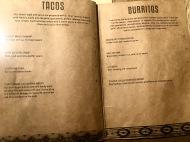 Afterwit SG - Tacos & Burritos Menu