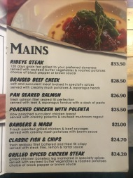 Kaw Kaw SG - Mains Menu