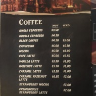 Kaw Kaw SG - Coffee Menu