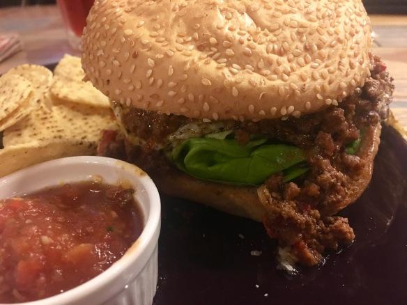 Kaw Kaw SG - Spicy Bolo Burger 1