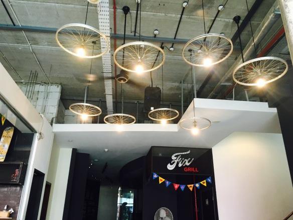 Fix Cafe - Ceiling Decor