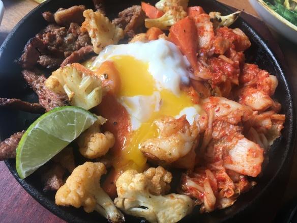 Fix Cafe - Beef Kimchi Fajitas