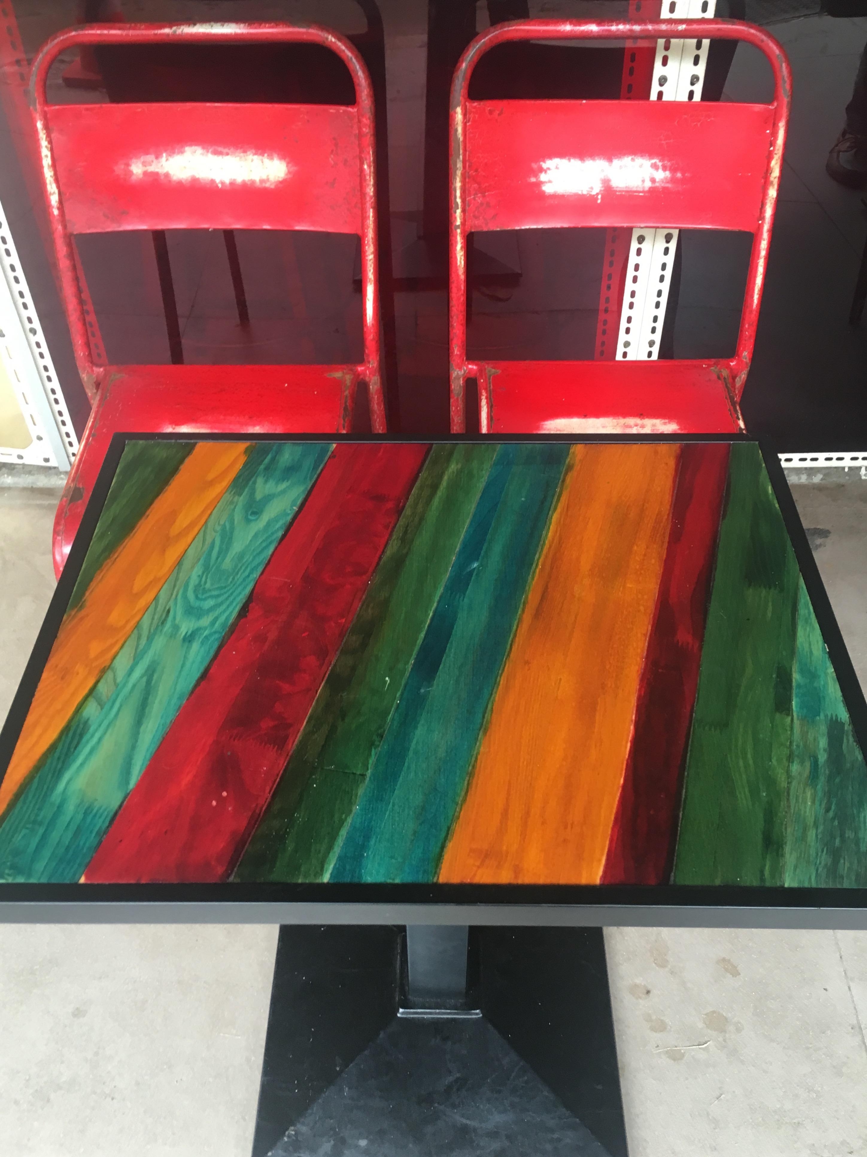 The Bravery Café - Outdoor Table