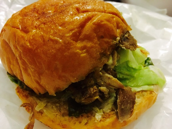 The Ugly Duckling SG - Duck Leg Confit Burger