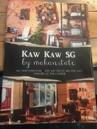 Kaw Kaw SG - Menu Cover