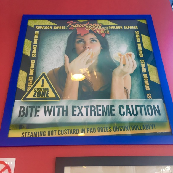 Kowloon Express - Bite With Caution Wall Poster
