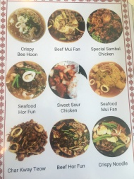 Kowloon Express - Menu Pictures