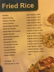 New Hawa - Menu Fried Rice