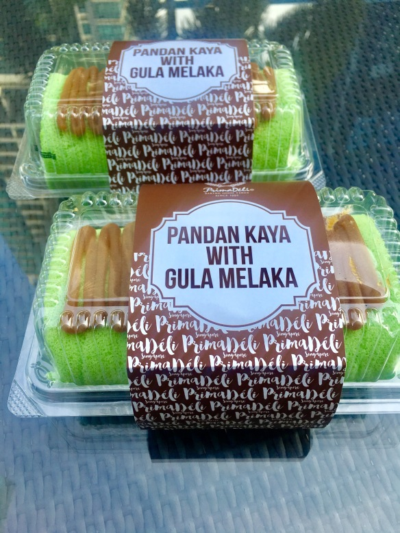 PrimaDéli - Pandan Kaya Gula Melaka Roll
