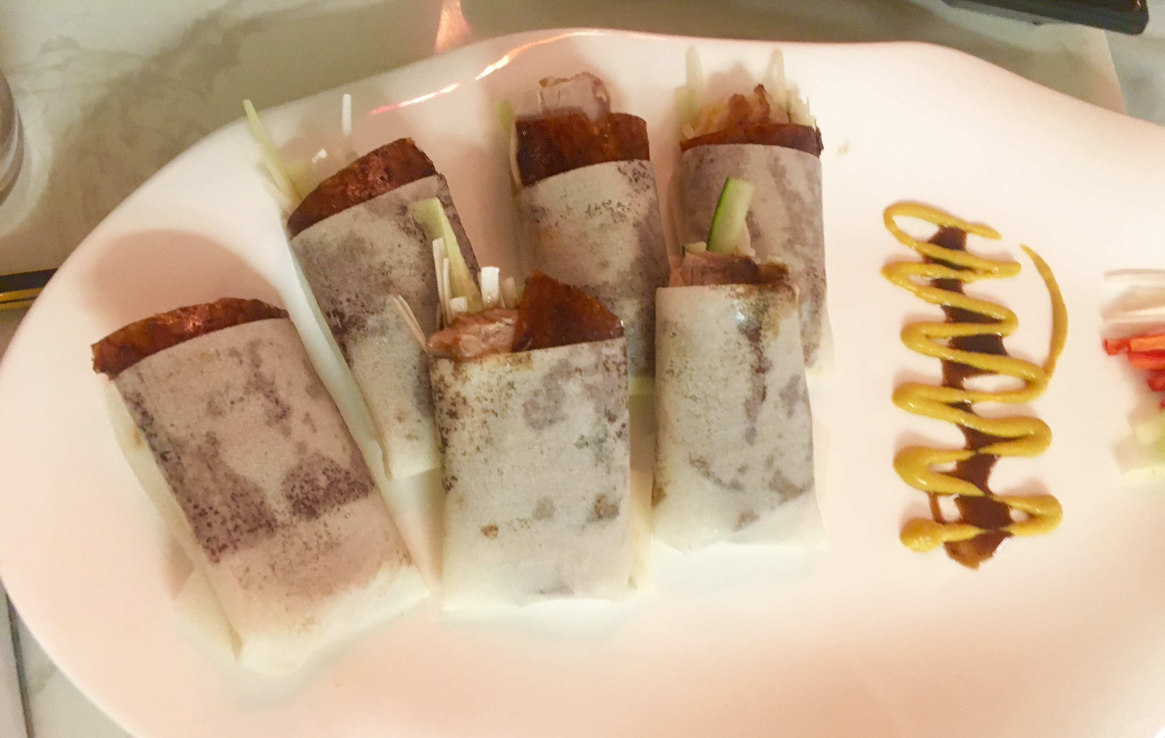 The Dim Sum Place - Smoked Peking Duck Wrap