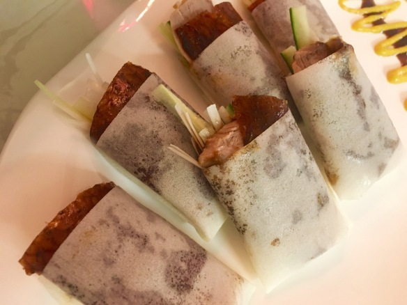 The Dim Sum Place - Smoked Peking Duck Wrap